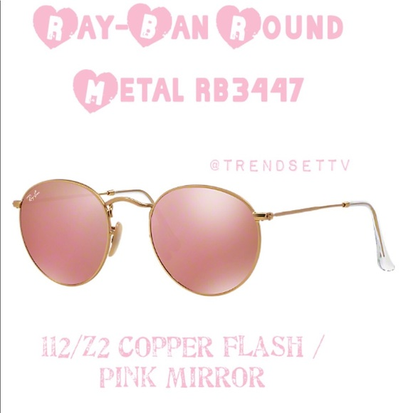17d6c5d58 ... coupon code for ray ban rb3447 round metal copper flash sunglasses  d1c4e 3ff6c